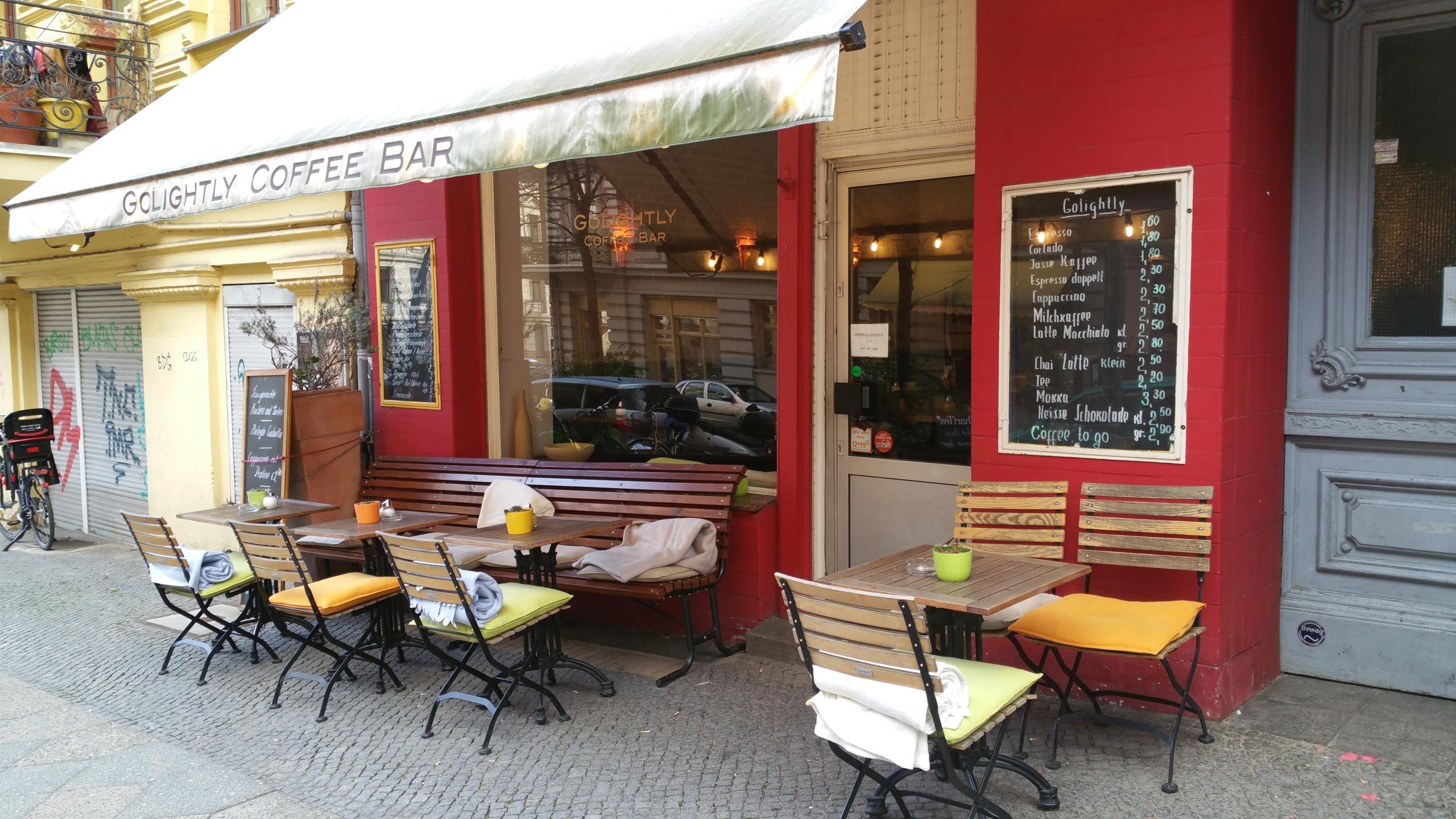 Golightly Coffee Bar öffnungszeiten Friesenstraße In Berlin Offennet