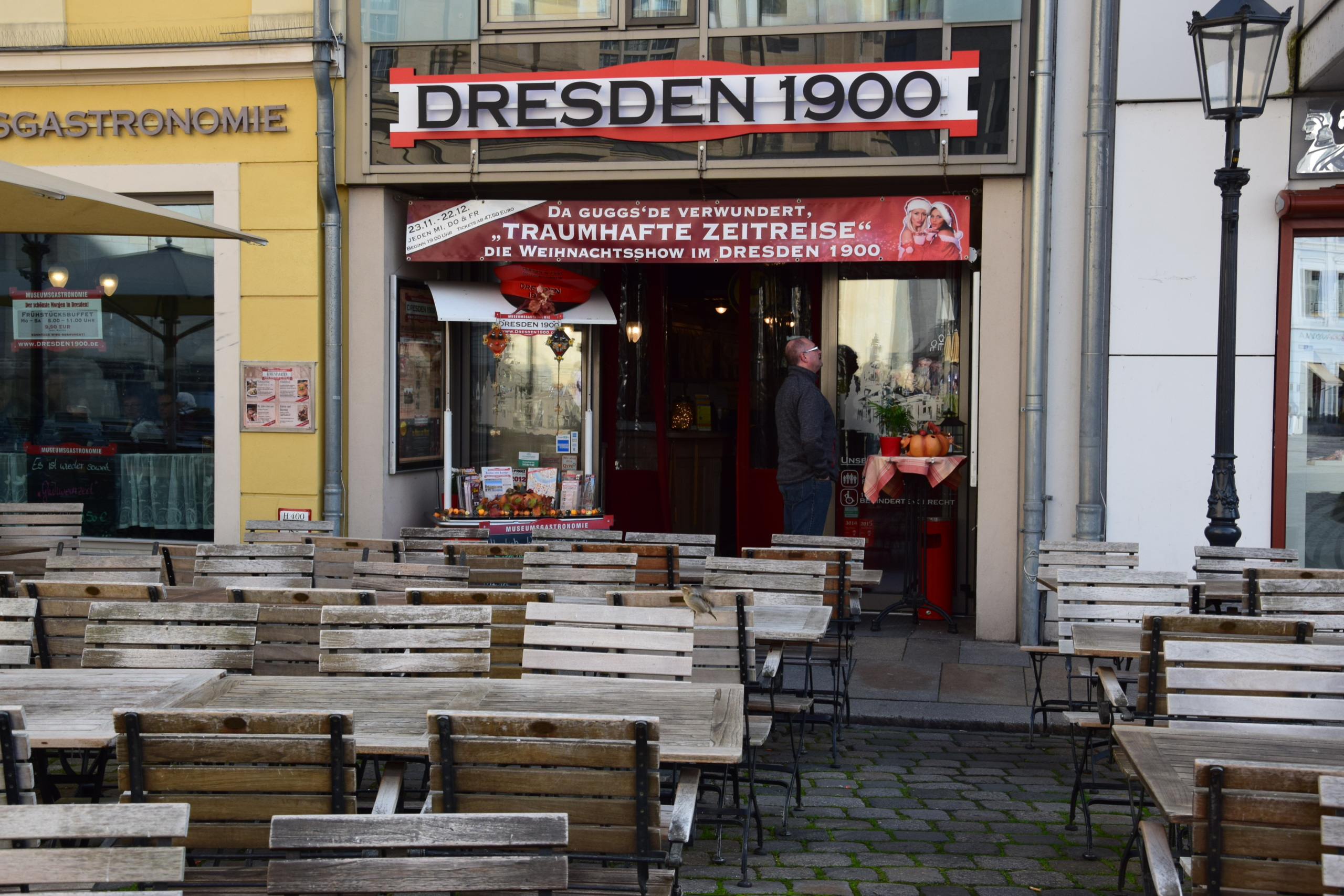 Dresden 1900 Öffnungszeiten, An der Frauenkirche in Dresden | Offen.net