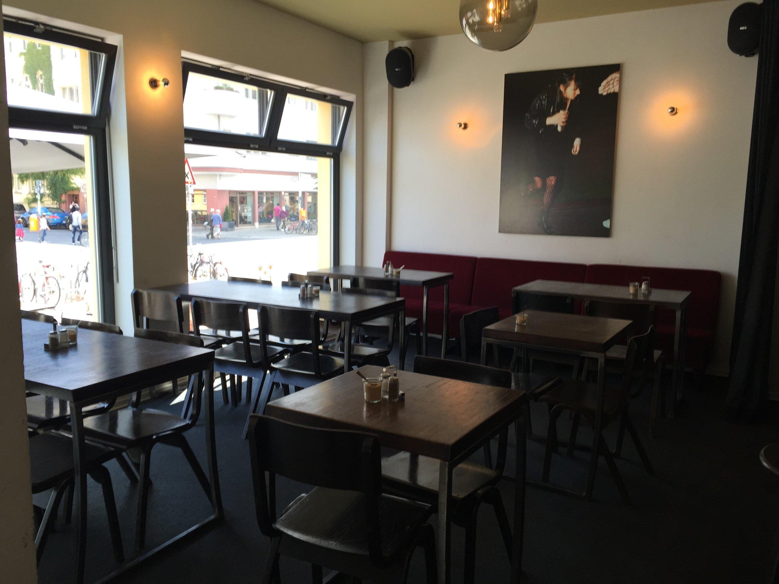 sauers cafe ffnungszeiten rosa luxemburg stra e in. Black Bedroom Furniture Sets. Home Design Ideas