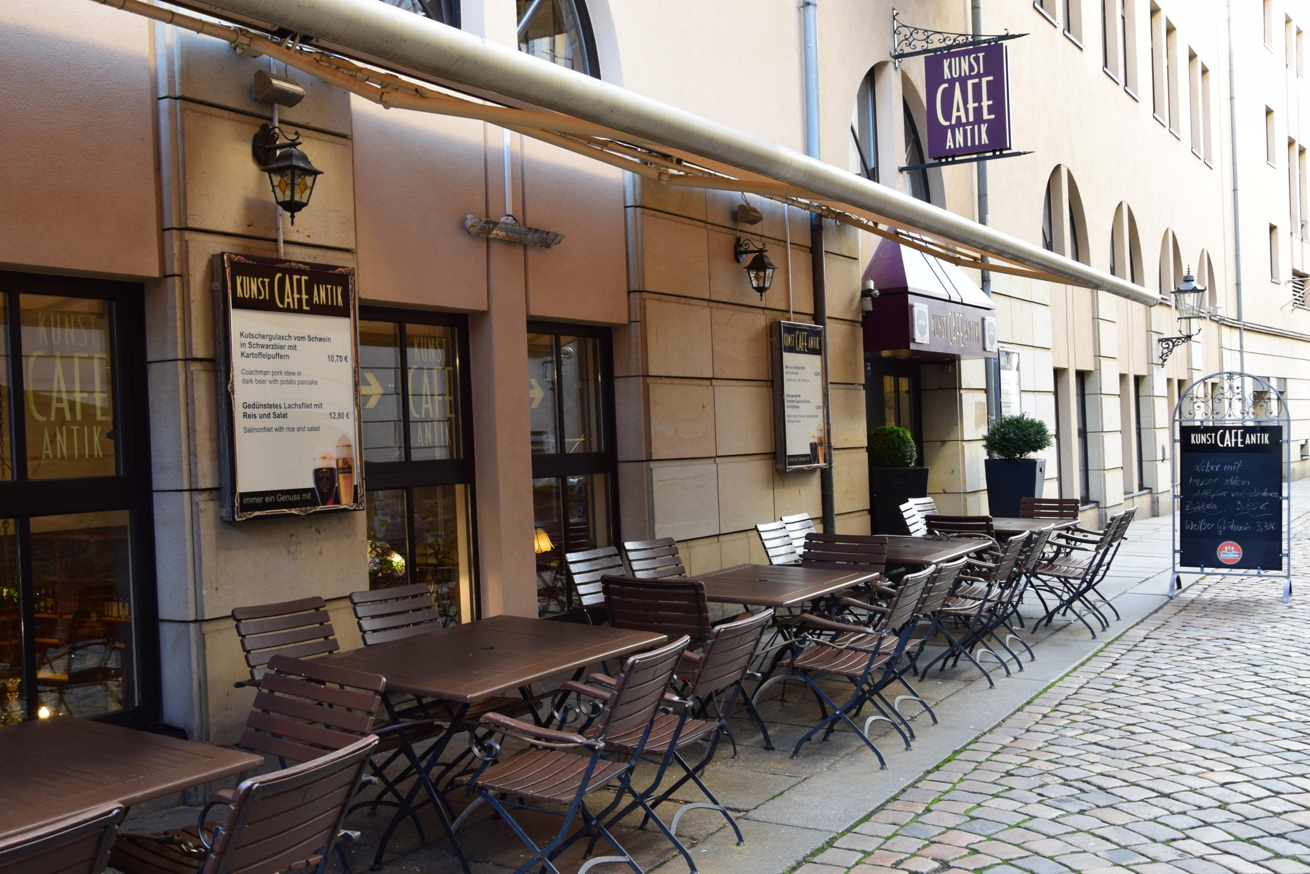 Kunst Café Antik Öffnungszeiten, Terrassengasse in Dresden | Offen.net